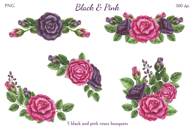 Black & Pink example image 5