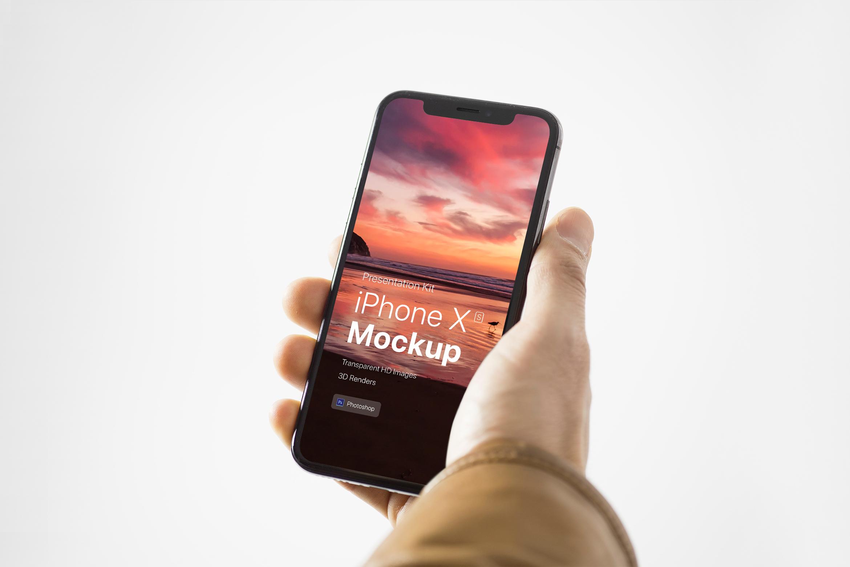 Presentation Kit - iPhone showcase Mockup_v8 example image 4