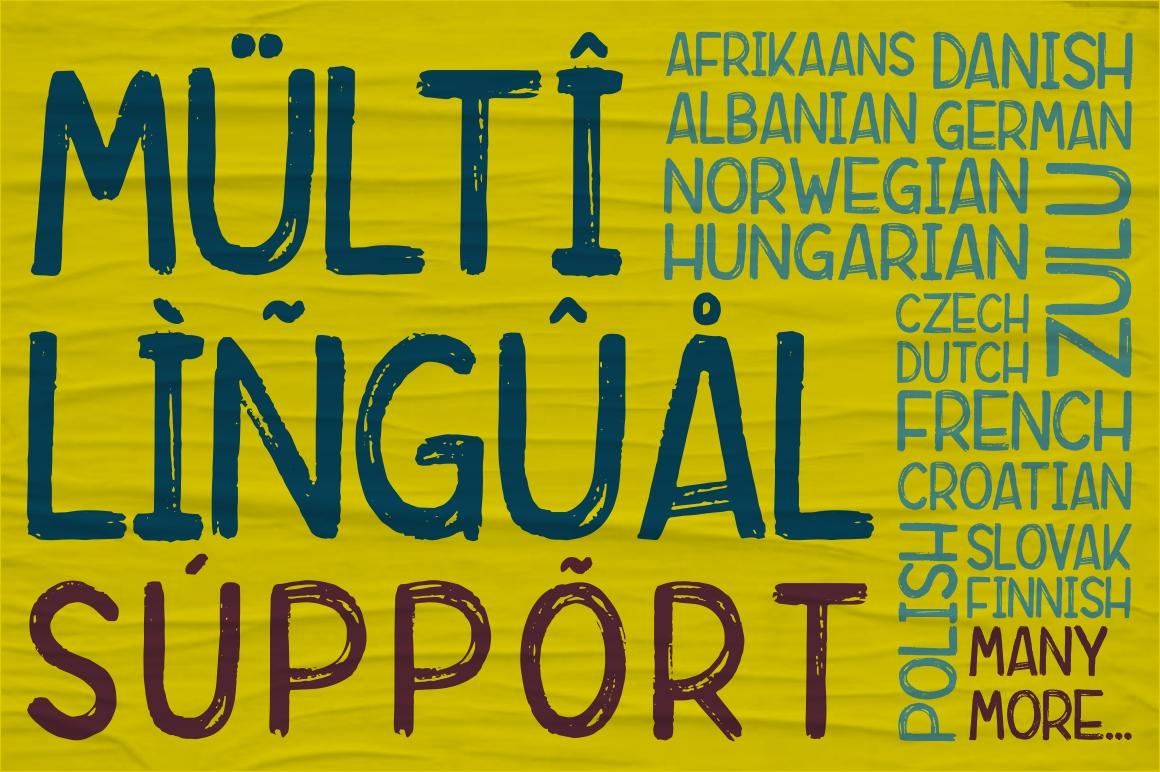 Rebrush Typeface example image 3