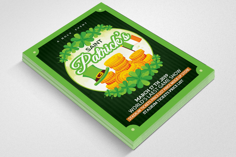 Saint. Patricks Day Flyer example image 2