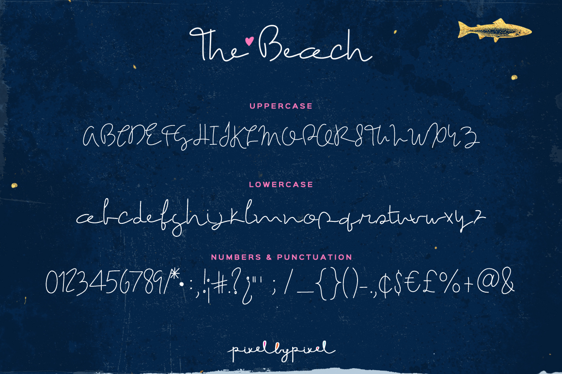 The Beach Font example image 6