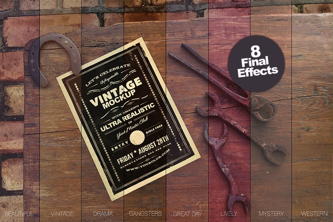 The Horseshoe Poster Mockup example image 6