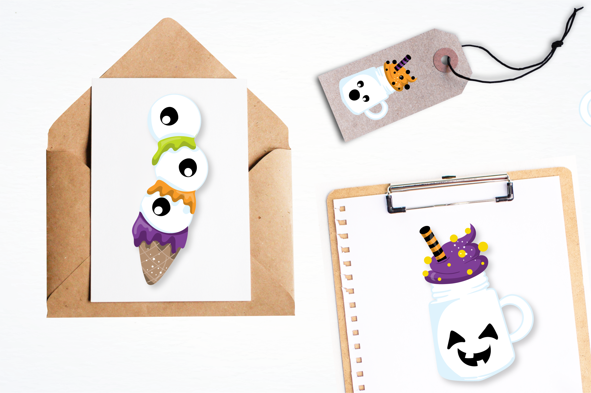 halloween sweets graphics and illustrations example image 4
