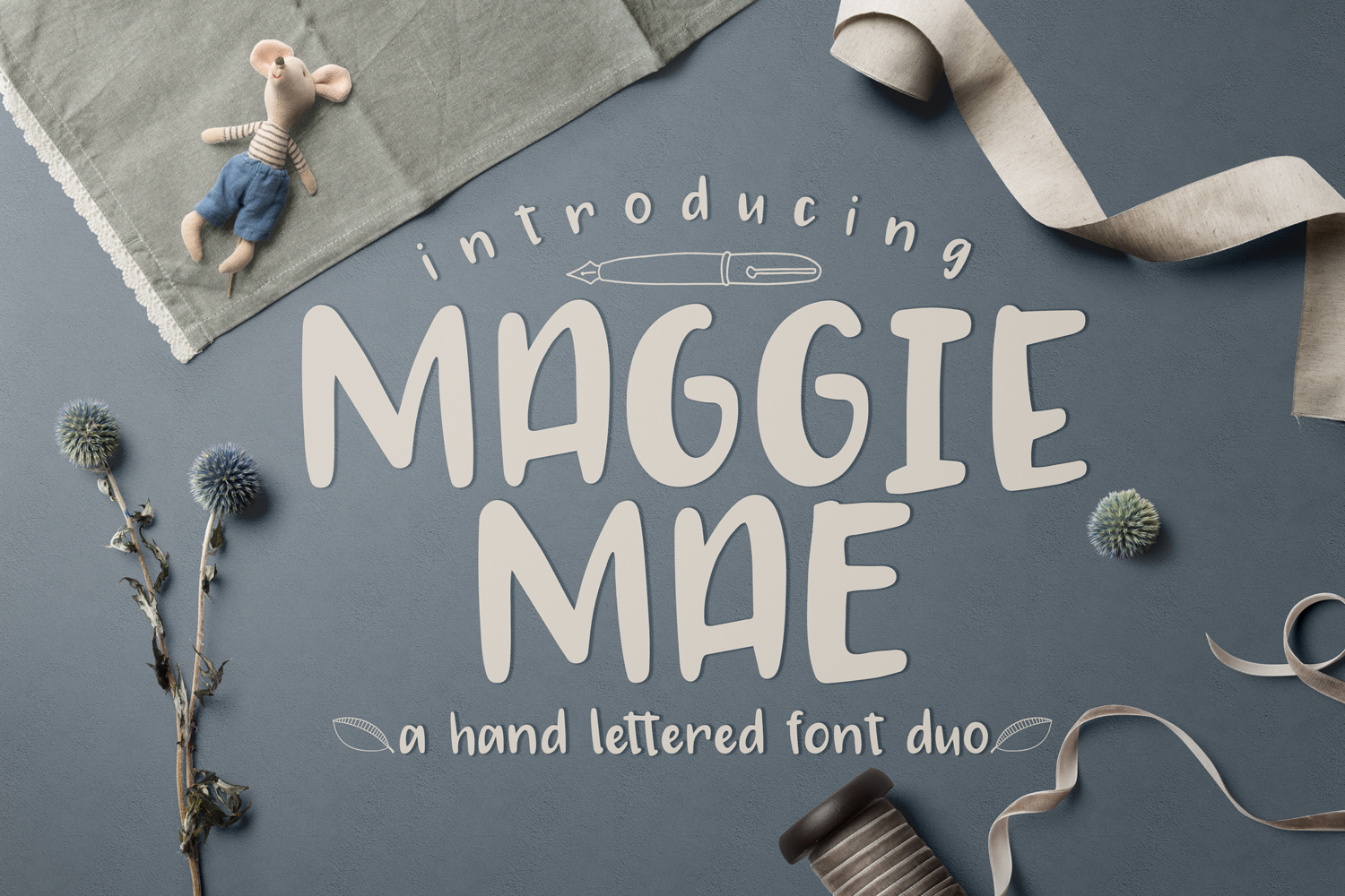 Maggie Mae Font Duo example image 1