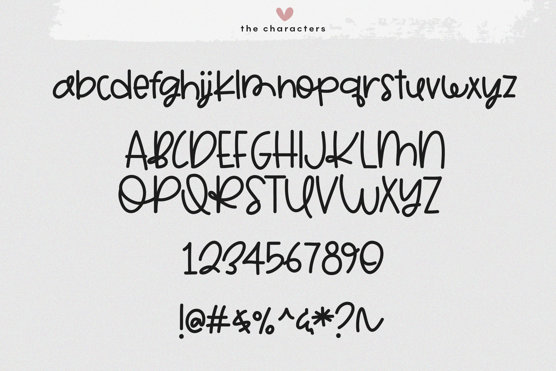 Marshmallow - A Cute Handwritten Font example image 9