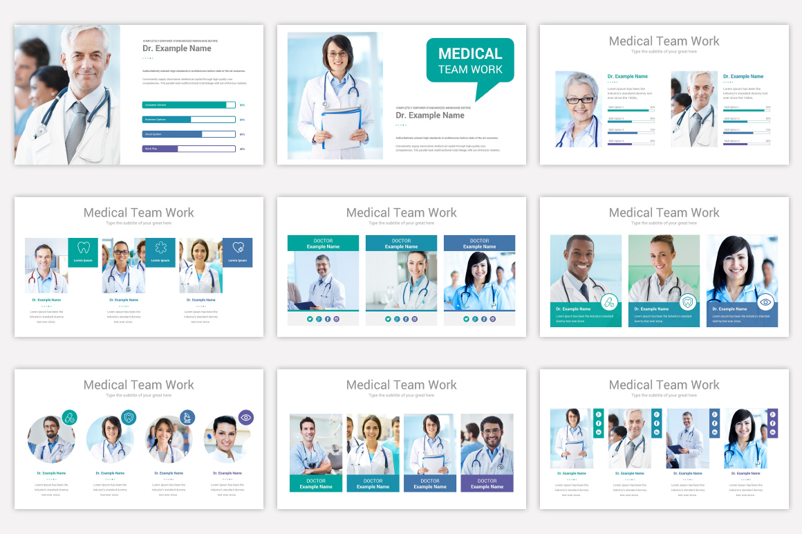 Medical Keynote Template Solutions example image 8