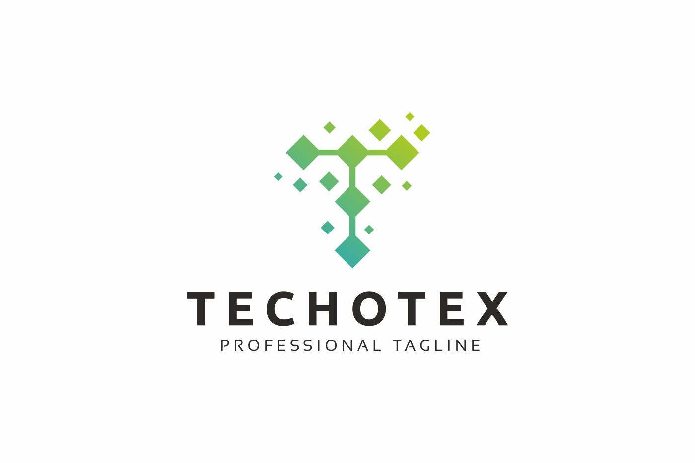 Techotex T Letter Logo example image 1