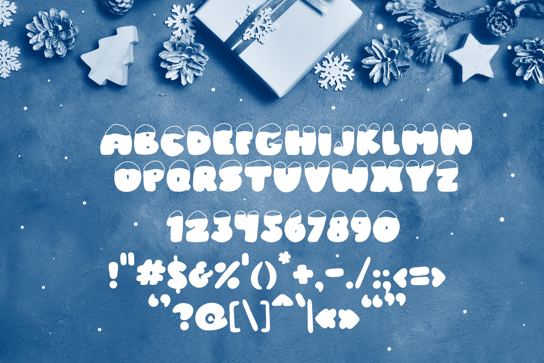Frosty Joy Hand Drawn Display Font example image 6