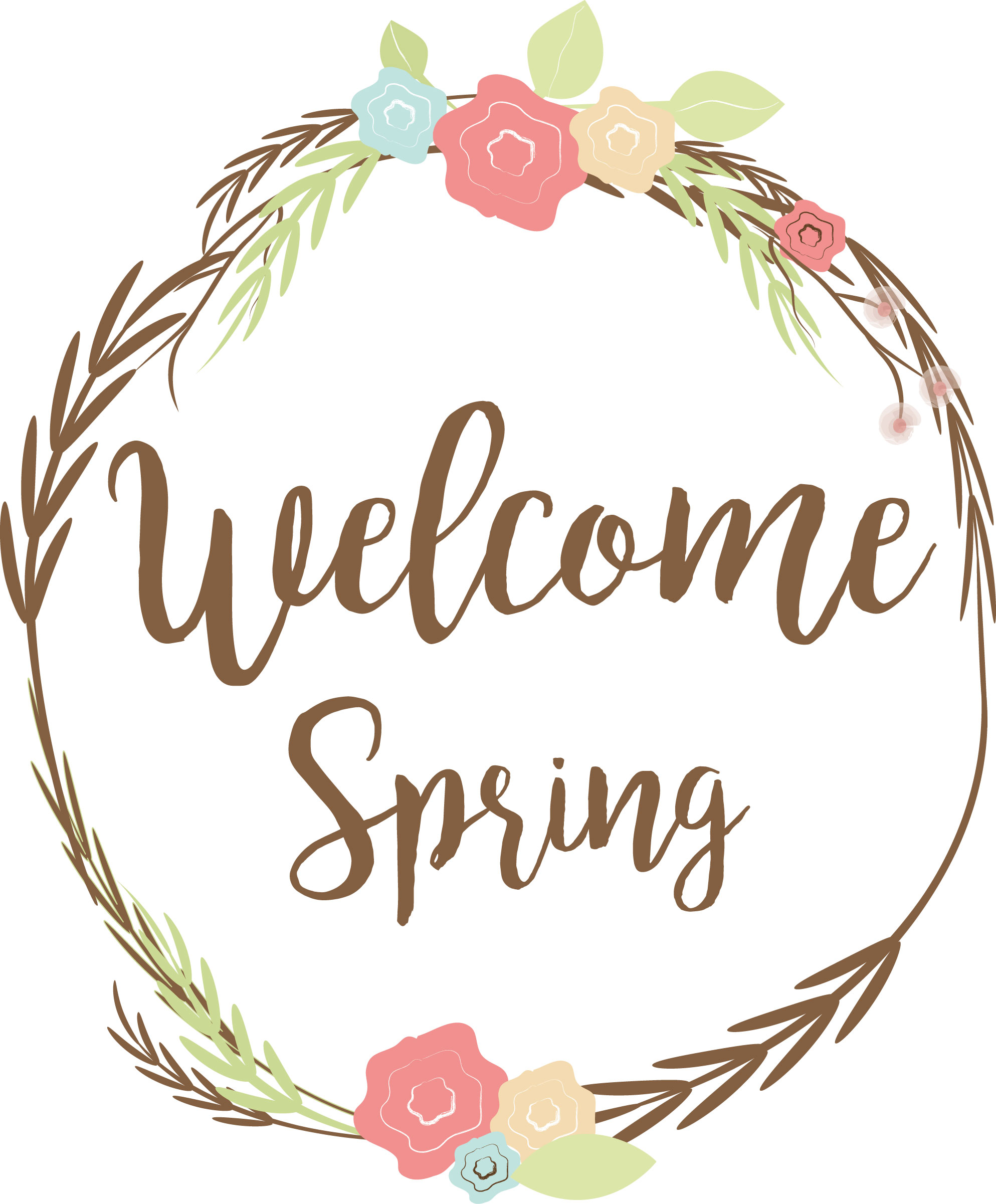 Welcome Spring Wreath example image 3