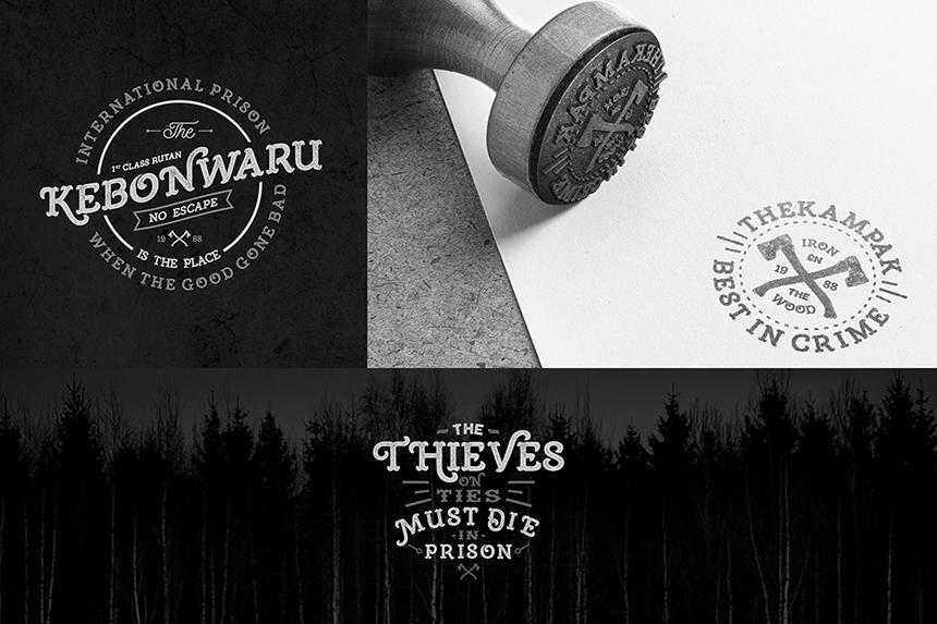 Burton Slab Typeface & Bonus example image 4