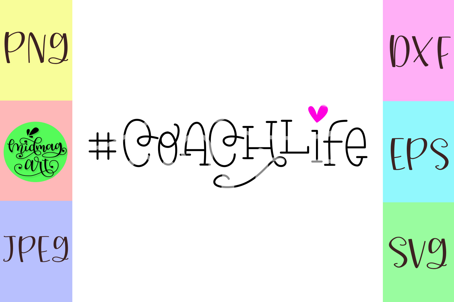 Coach life svg example image 2