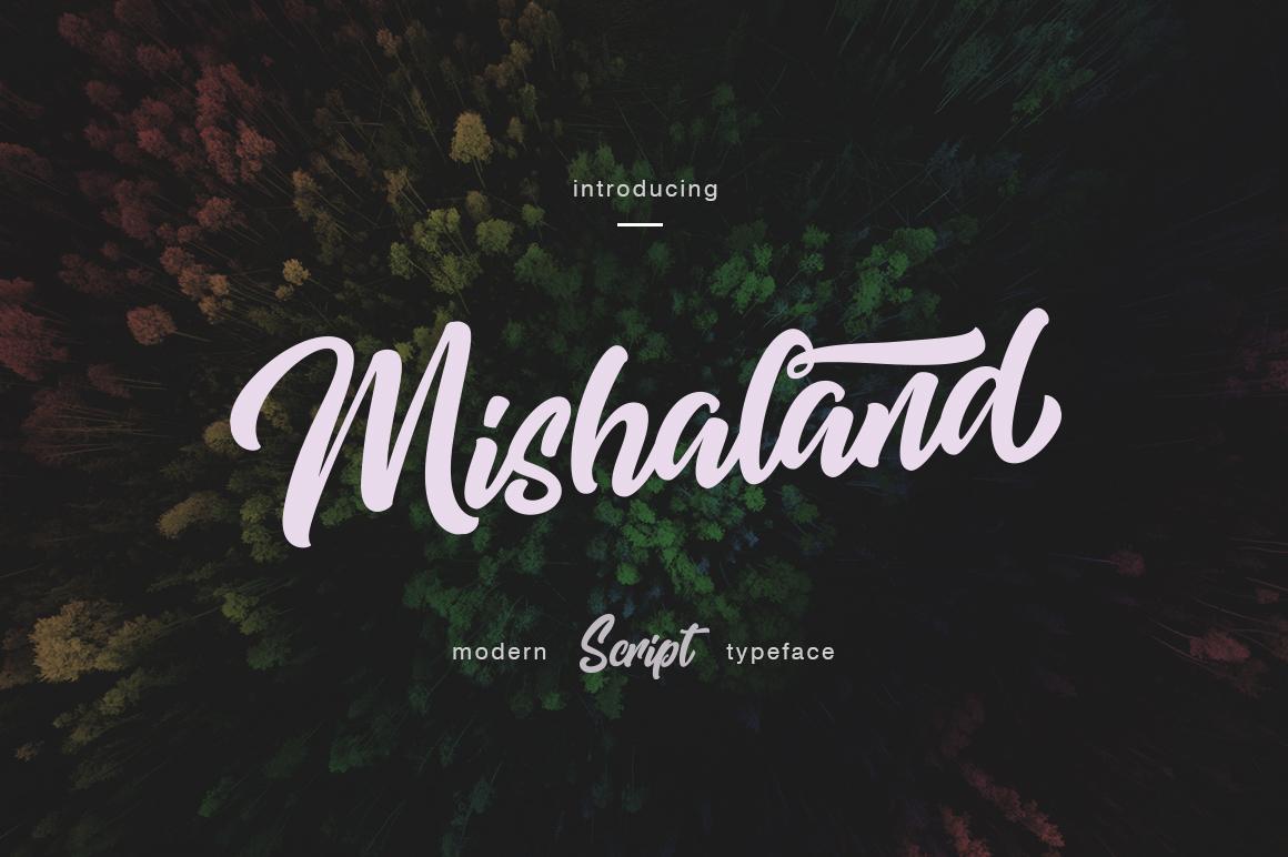 Mishaland Typeface example image 1