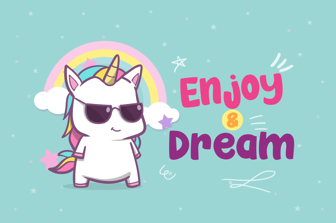 Cool Unicorn example image 3