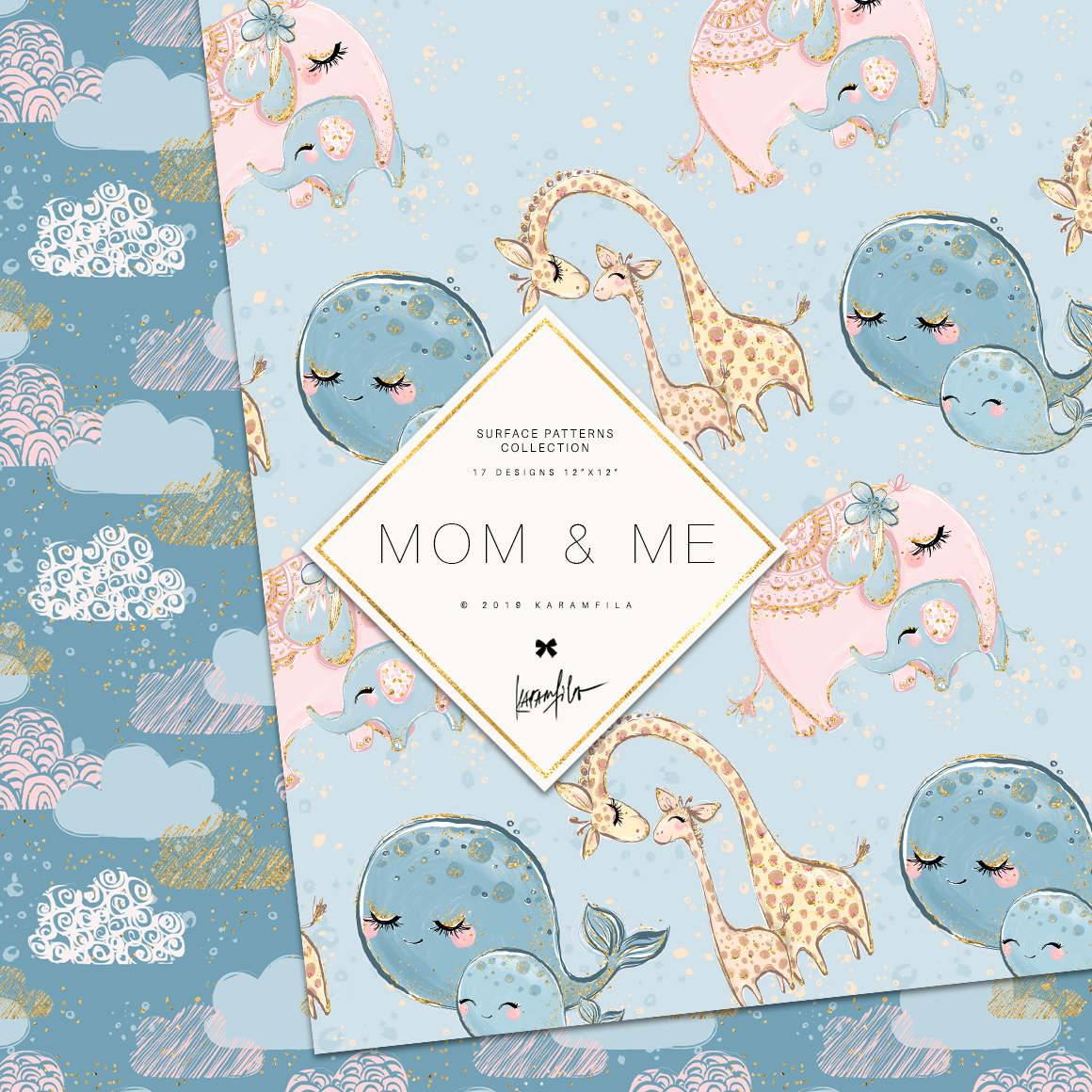 Baby Animals Mother's Day Patterns example image 2