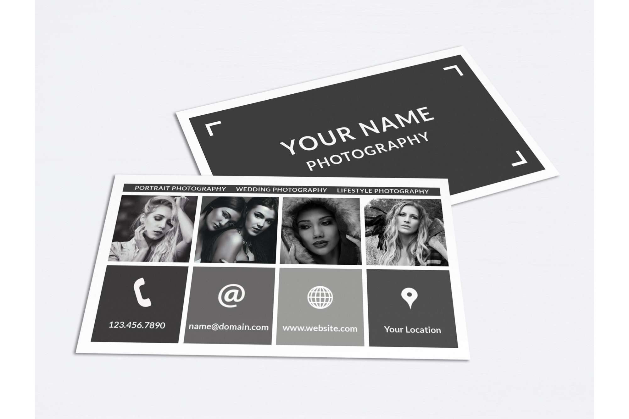 Business Card Template for Photoshop example image 2