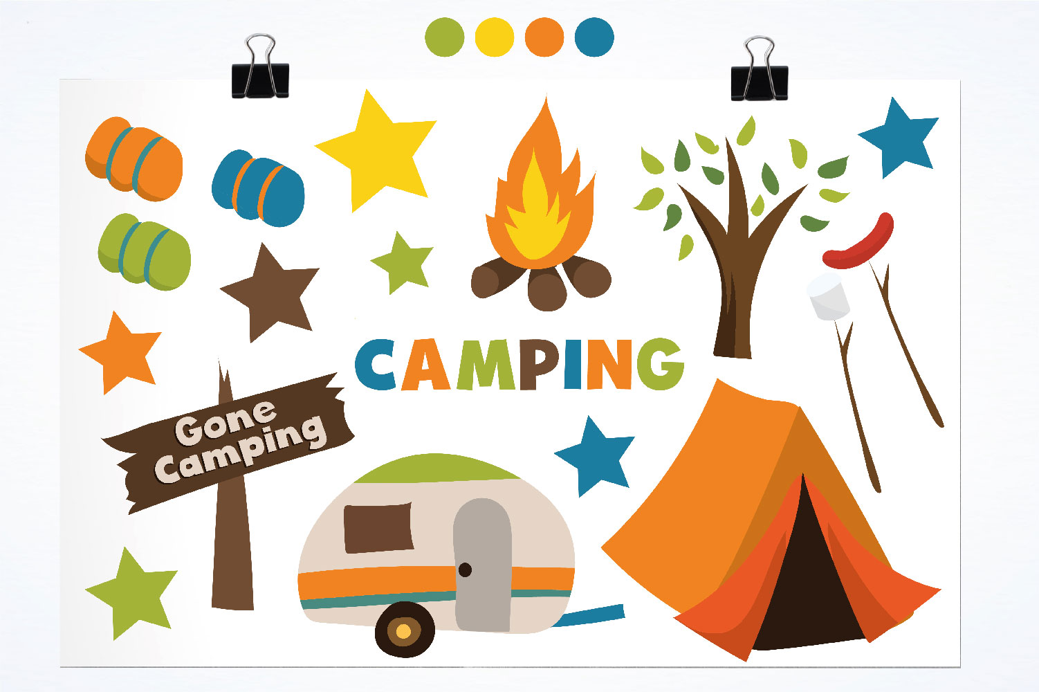 Camping Cute Graphics example image 2