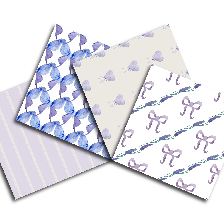 Lavender Digital Paper example image 4
