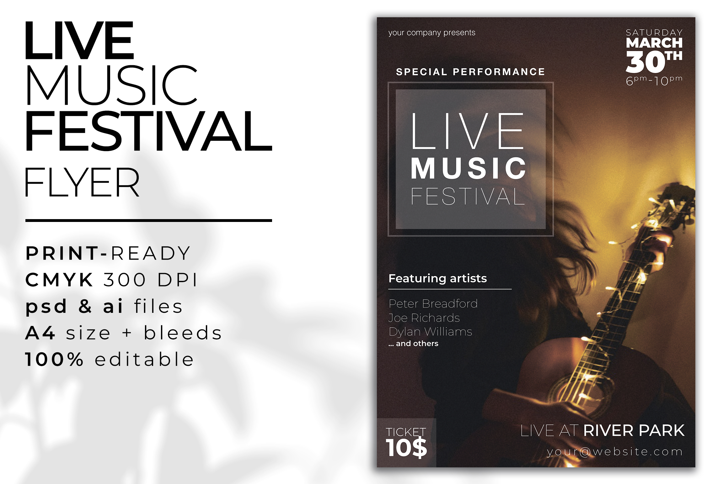 Musician Graphic pack example image 9