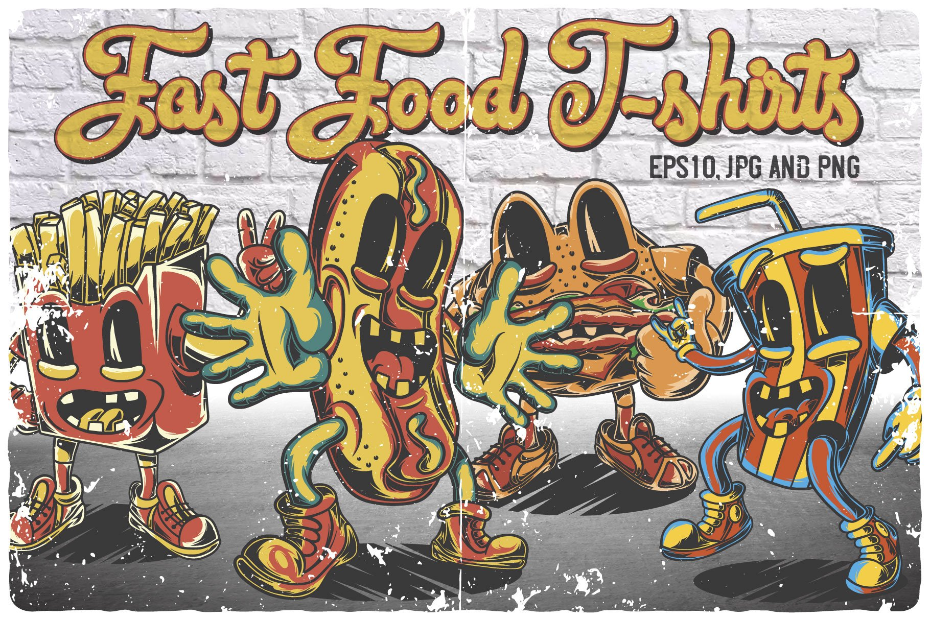 Fast Food T-shirts example image 2