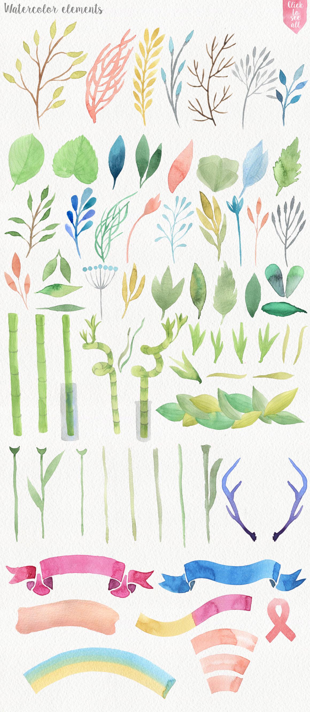 Garden Watercolor DIY example image 3