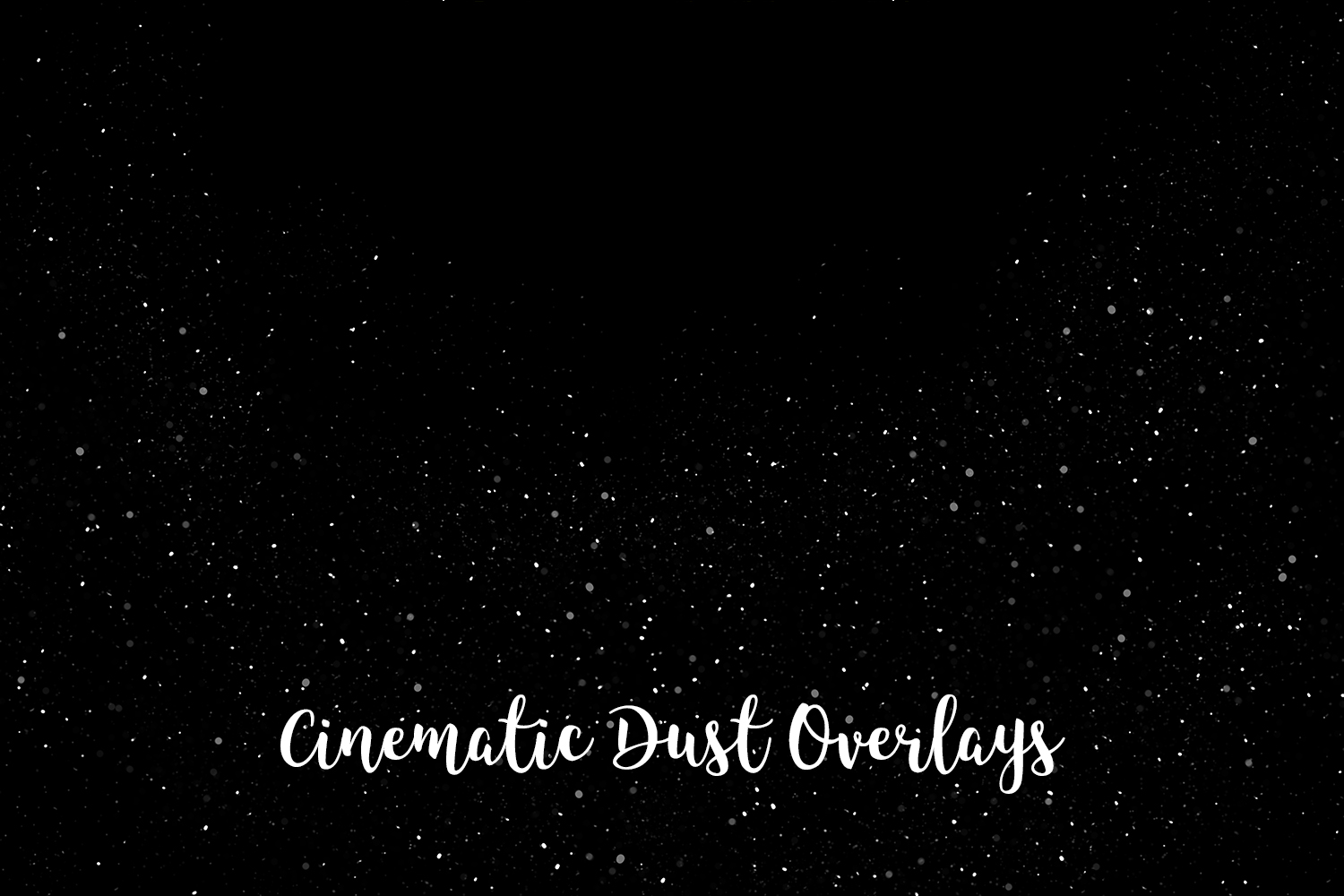 Cinematic Dust Photo Overlays, Bokeh Light Effects example image 7