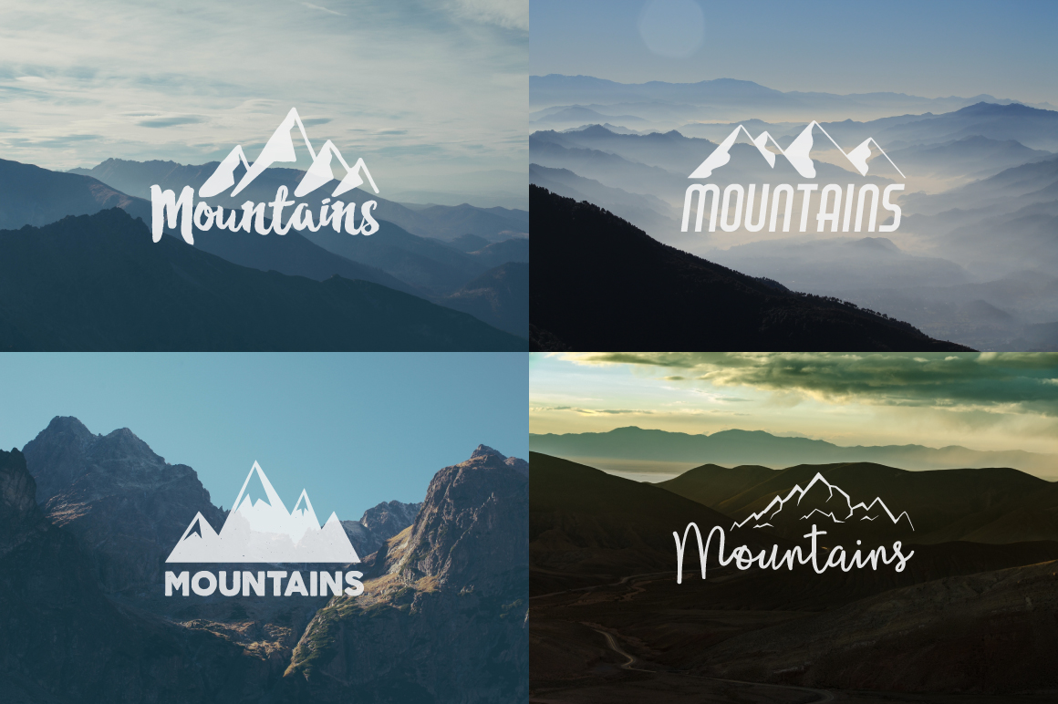 70% OFF Adventure Graphics Pack / Retro Logos Set / SVG's Collection / Icons example image 15