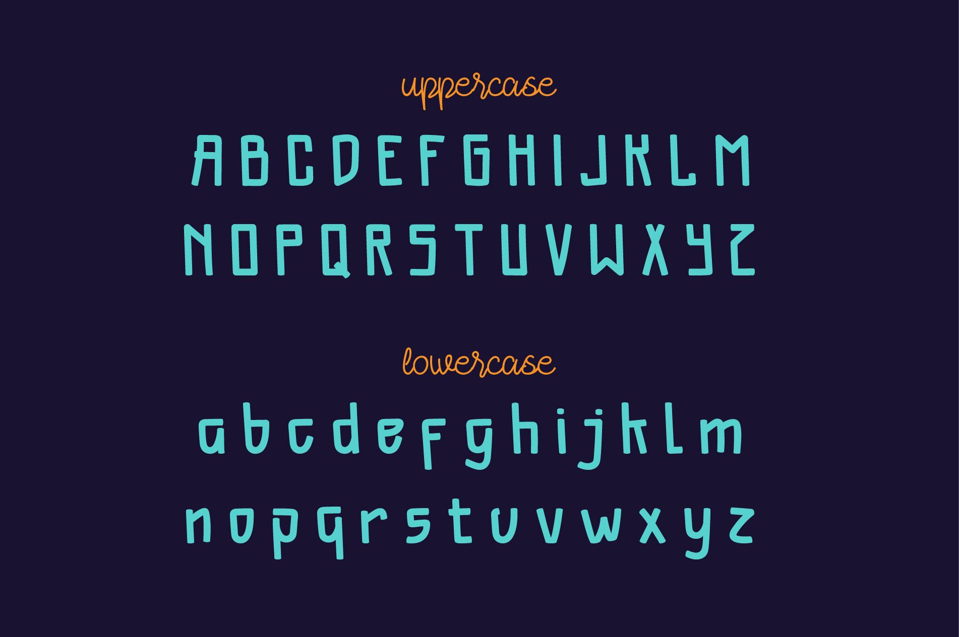 Ashalina Duo Font example image 5