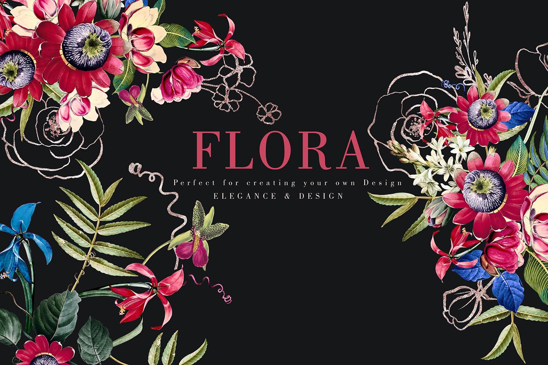 Flora| Arrangements vintage and gold Rose example image 5