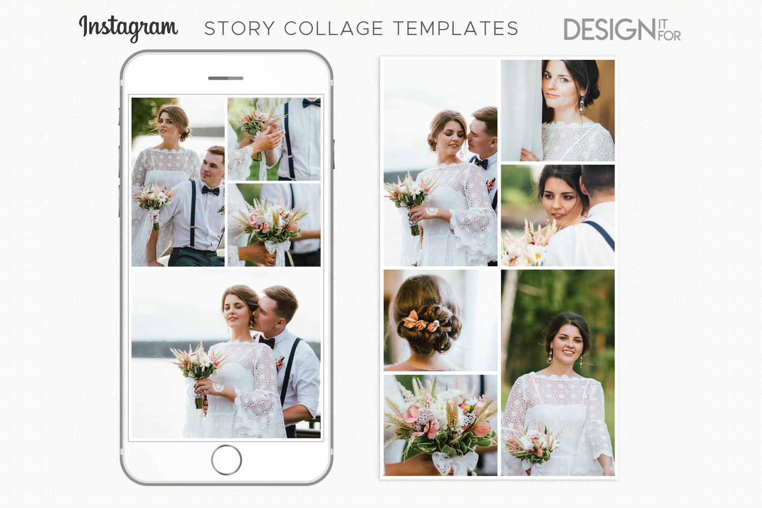 instagram story templates, instagram story collage templates example image 2