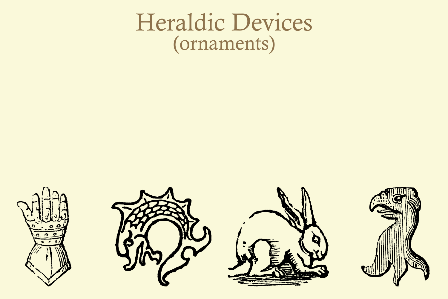 Heraldic Devices Premium (pack)  example image 9
