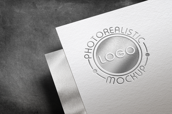Logo Mock-Up Paper Edition example image 14