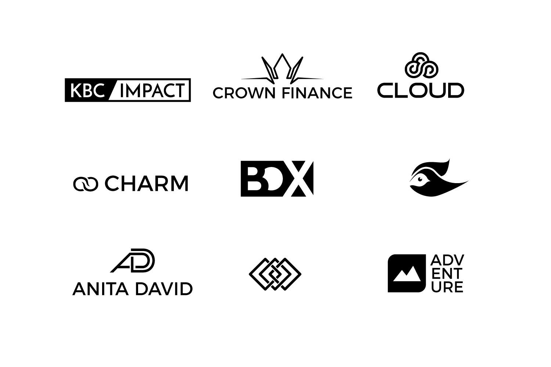 25 minimal logos Bundle example image 2