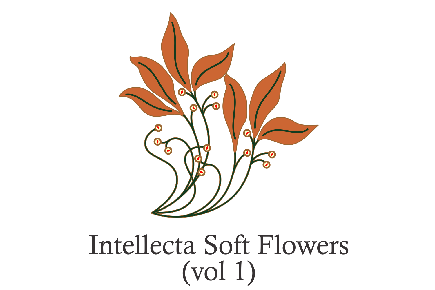 Intellecta Soft Flowers vol 1 example image 1