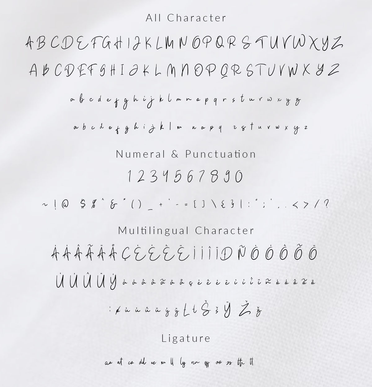 Kathlyn Signature Font example image 9