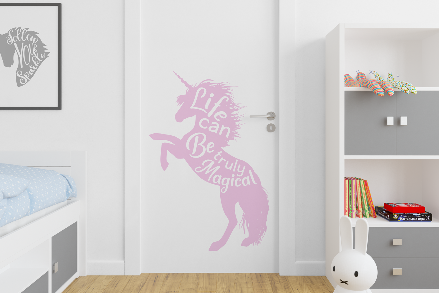 Unicorn Quotes SVG Cut Files Pack example image 6