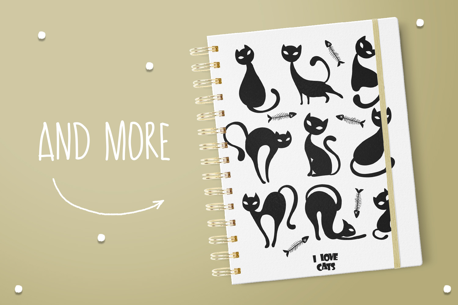 Cat Silhouettes example image 5