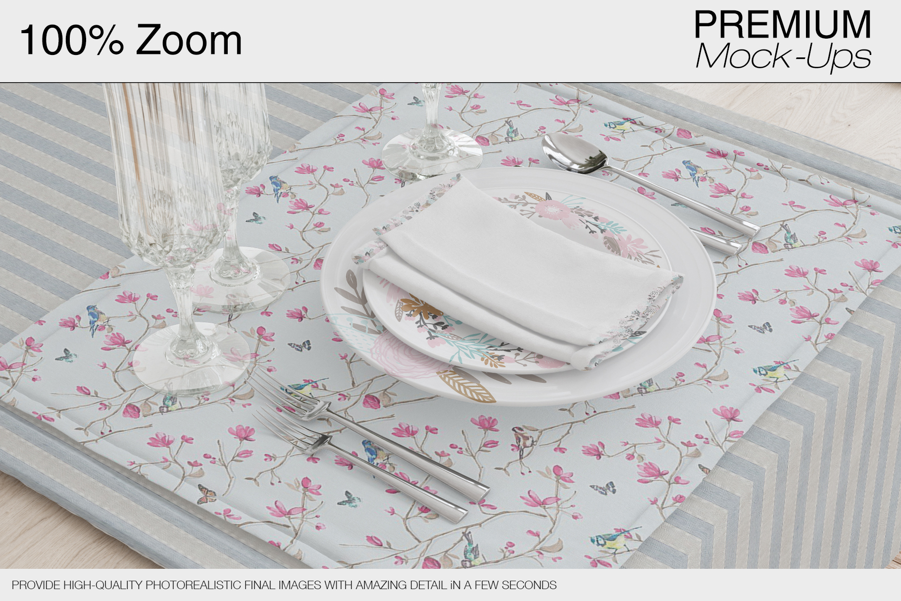 Tablecloth, Runner, Napkins & Plates example image 2