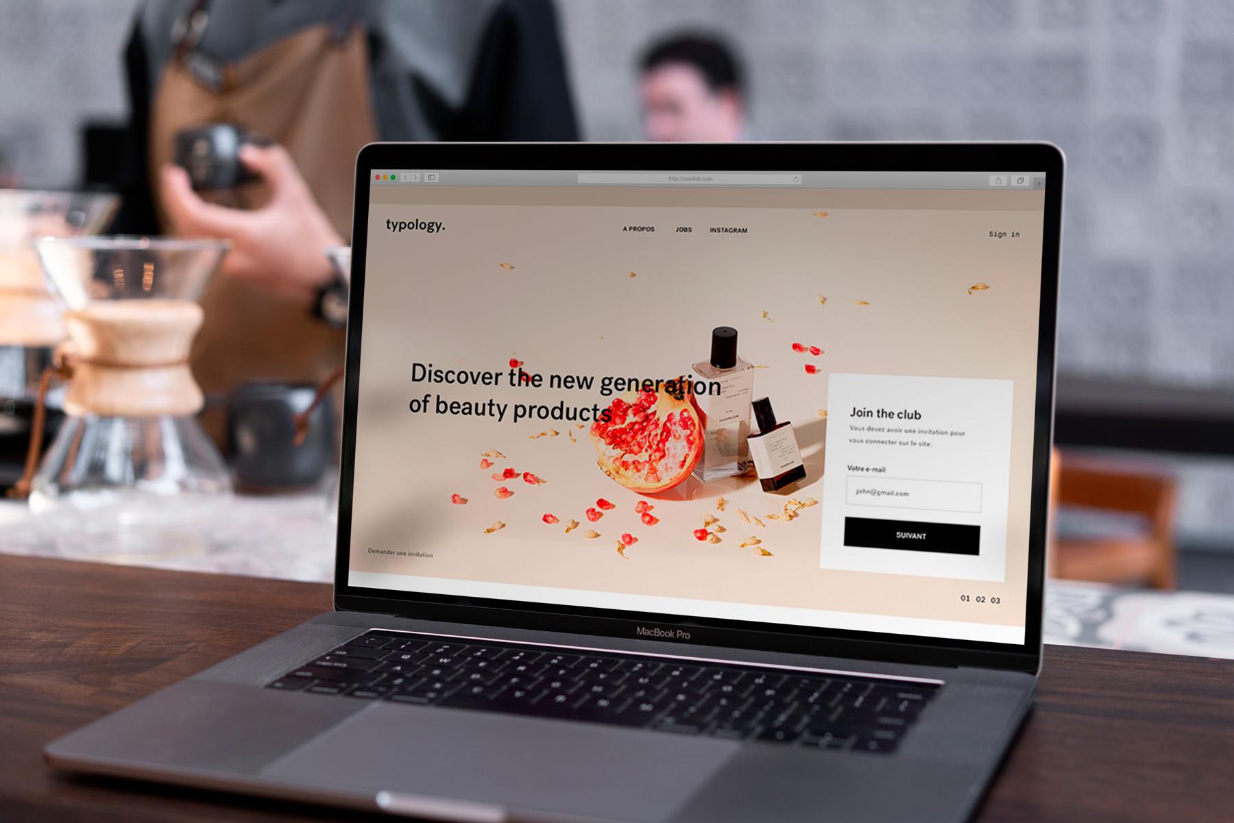 MacBook Pro Mock-Up Loft Style example image 9