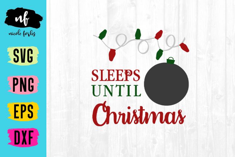 Christmas Countdown SVG Bundle example image 6