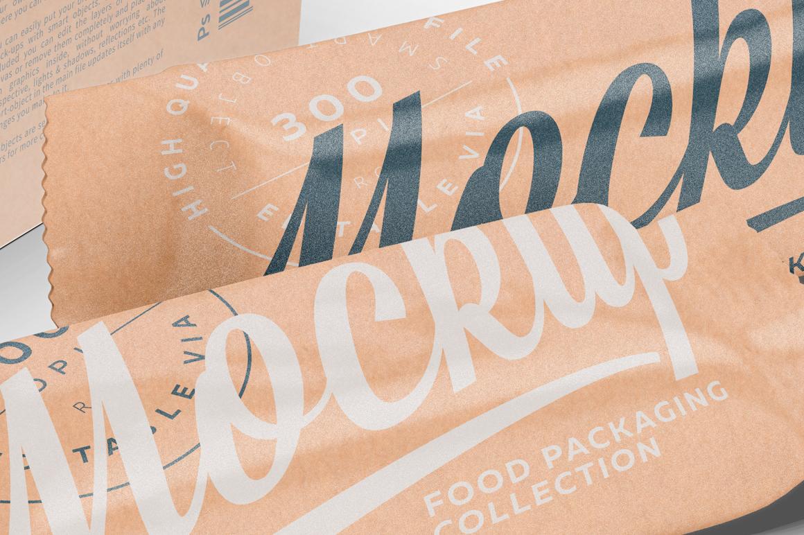 Kraft Snack Bars Box 20x80g Mockup example image 9