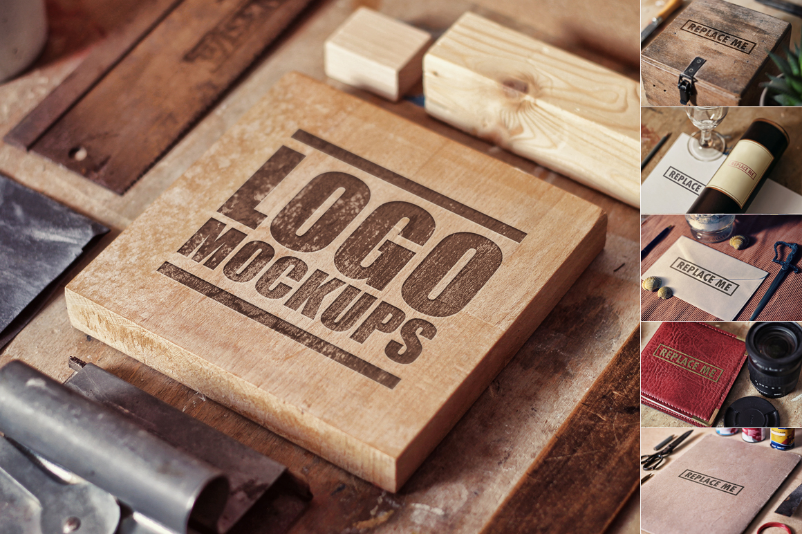 Perspective Logo Mockups Vol.1 example image 1