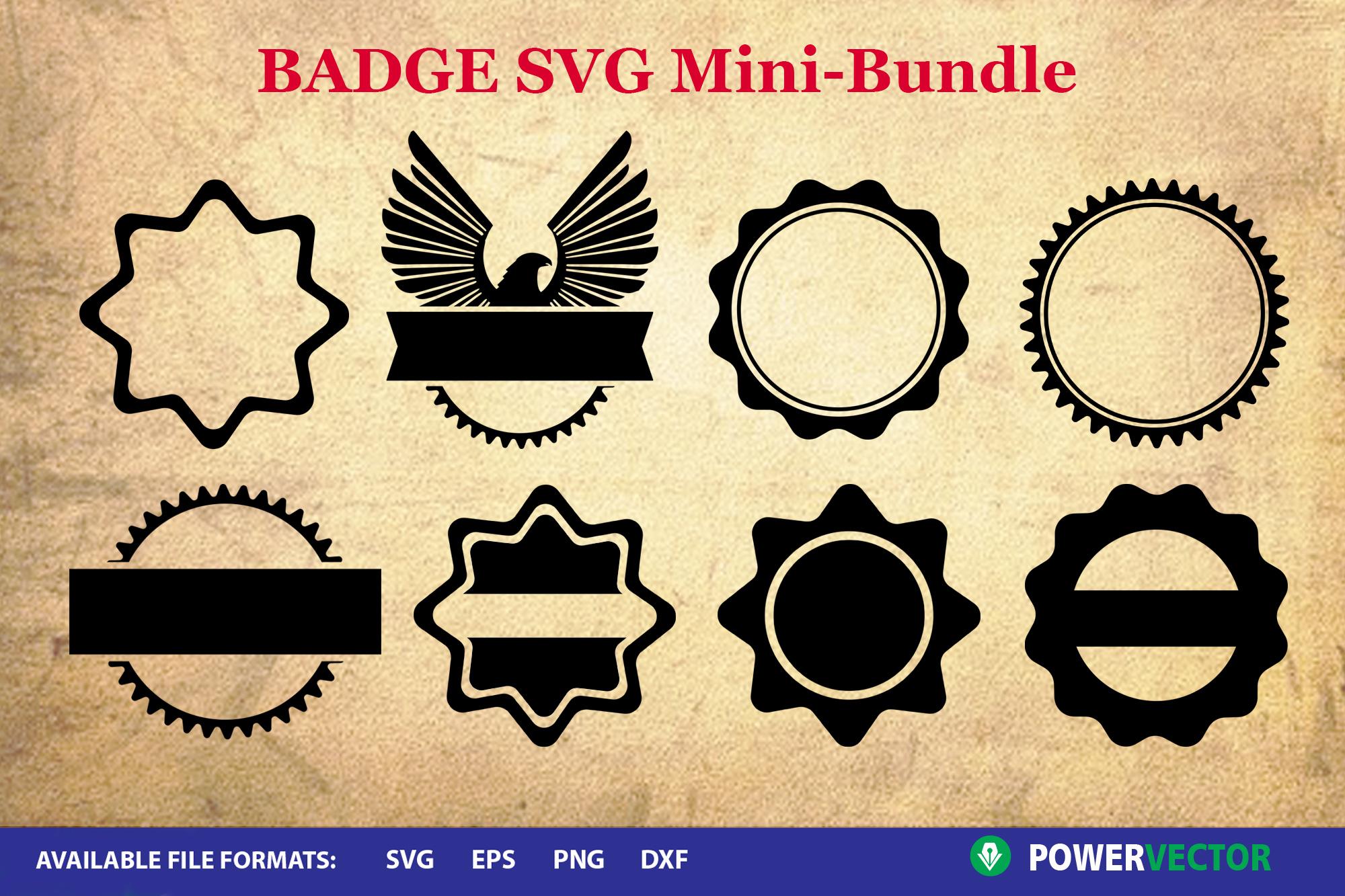 Badge SVG | Logo Frame Templates example image 2