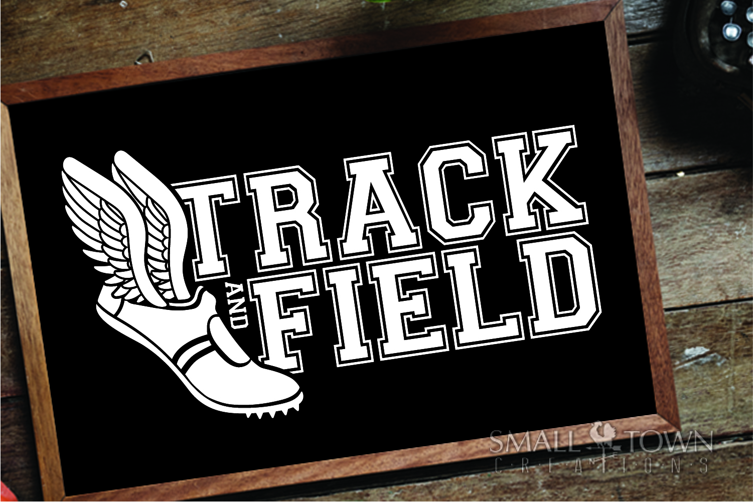 Track and Field, Team sport, Track logo, PRINT, CUT, DESIGN example image 6