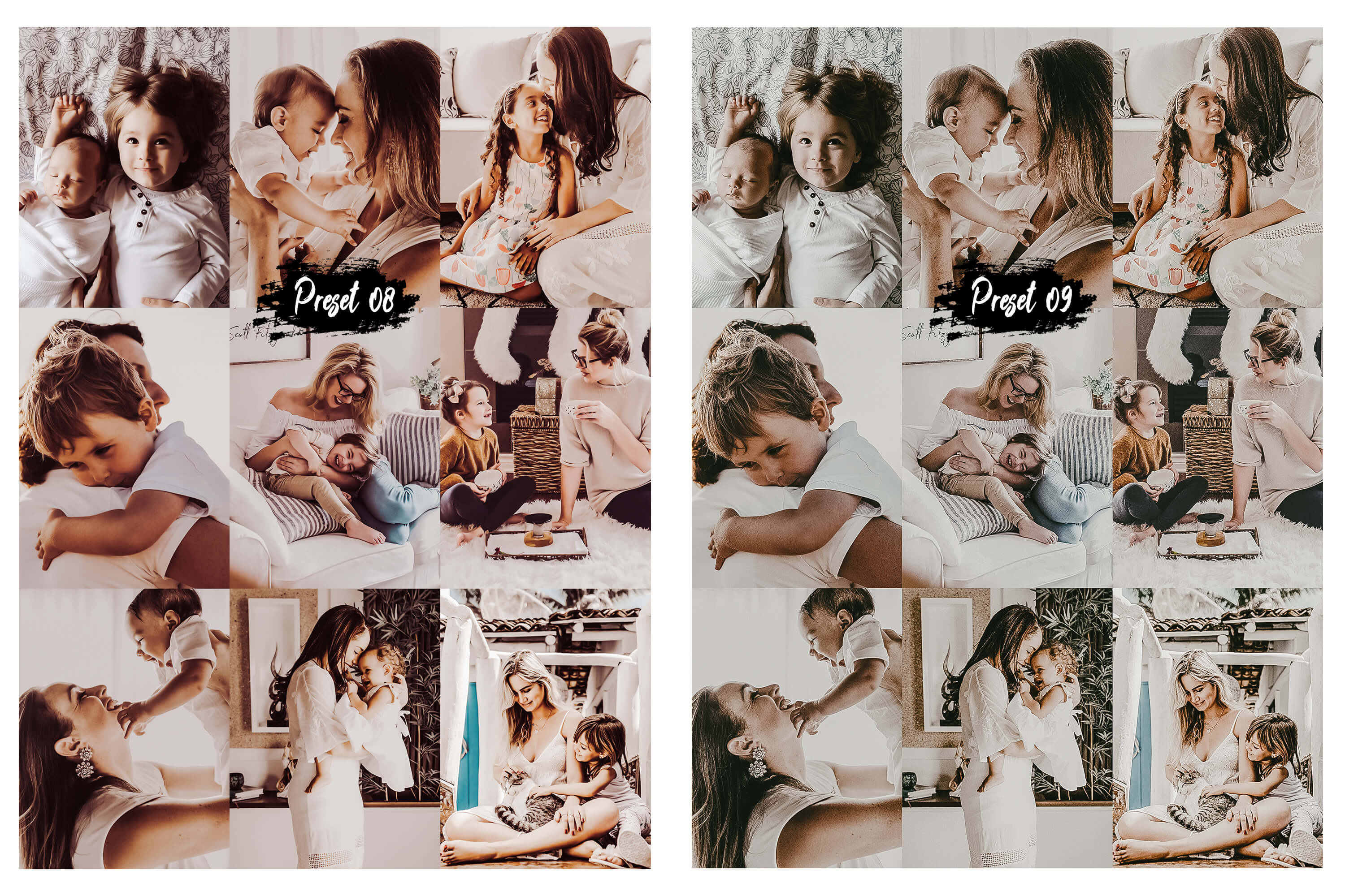 10 Family & Kids Photoshop Actions, ACR and LUT presets example image 9