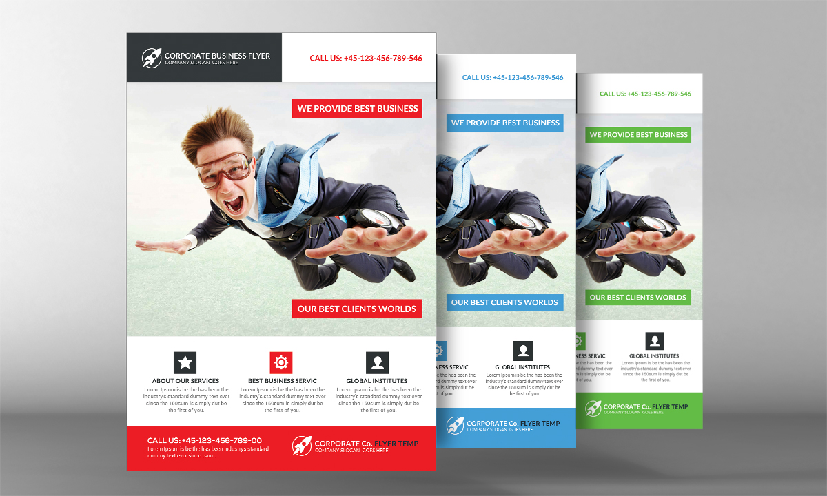 Super Business Flyer Template example image 2