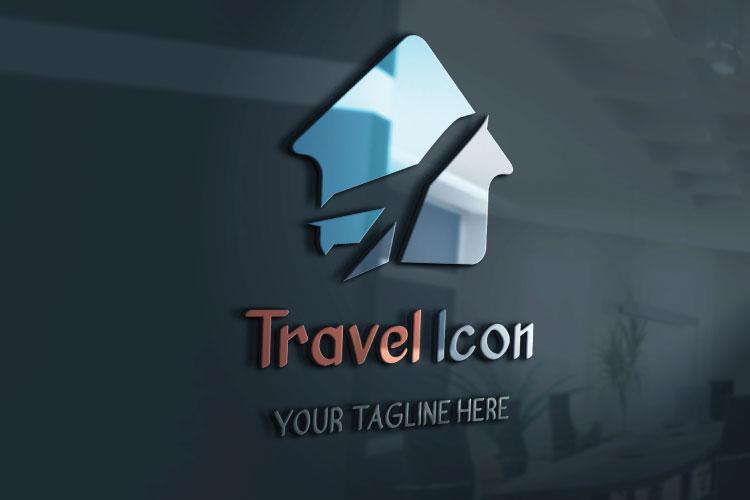 Flat Travel Logo Design example image 3
