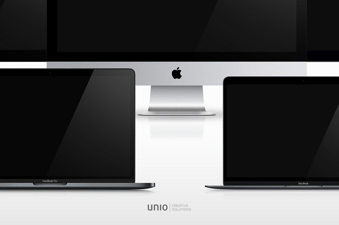 Apple Mockup Devices Bundle example image 3