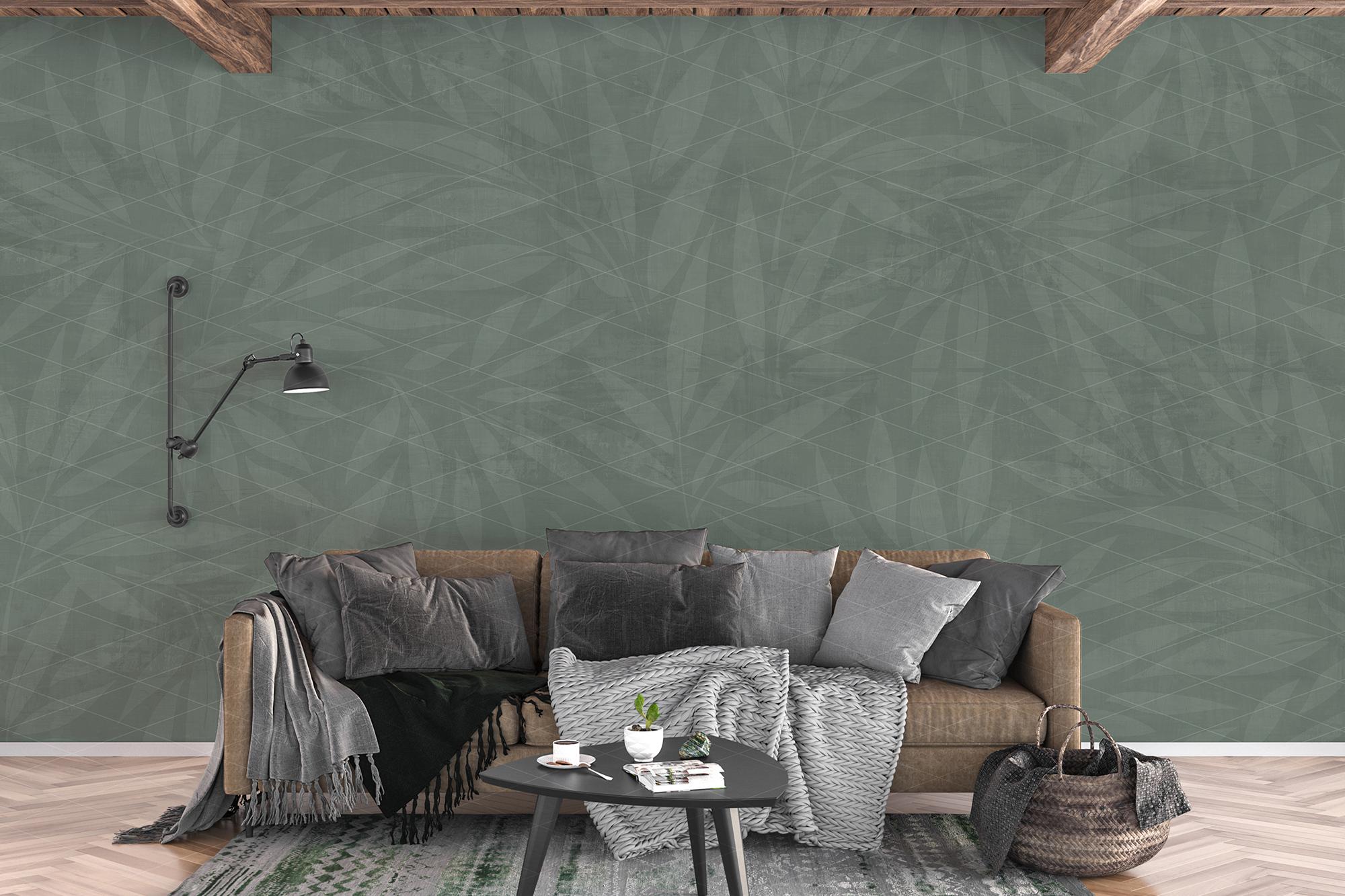 Wall mockup - wallpaper mock up example image 7