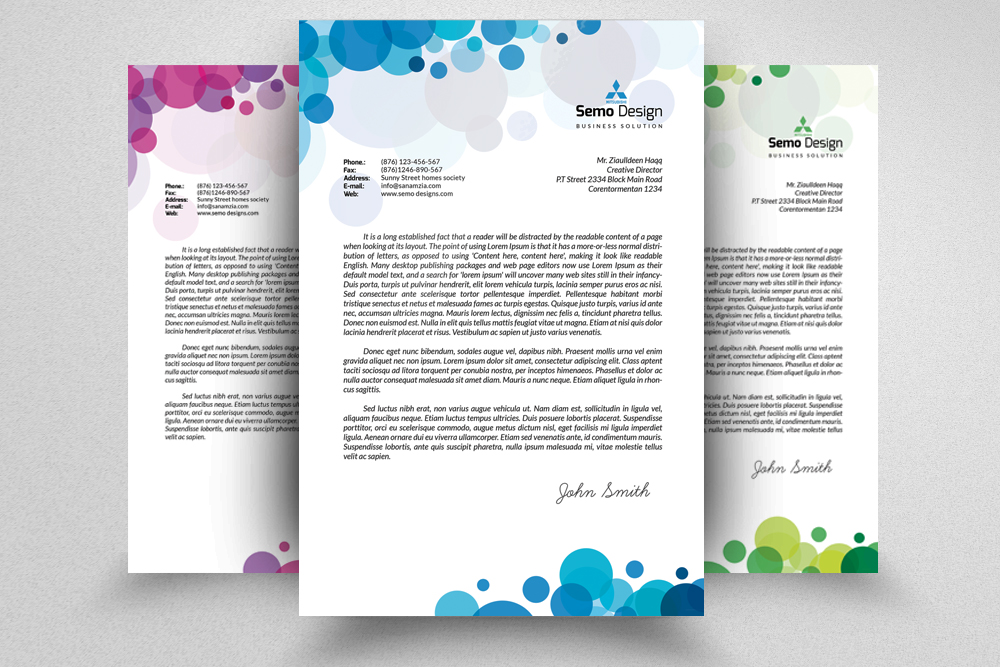 Business Letterheads example image 1