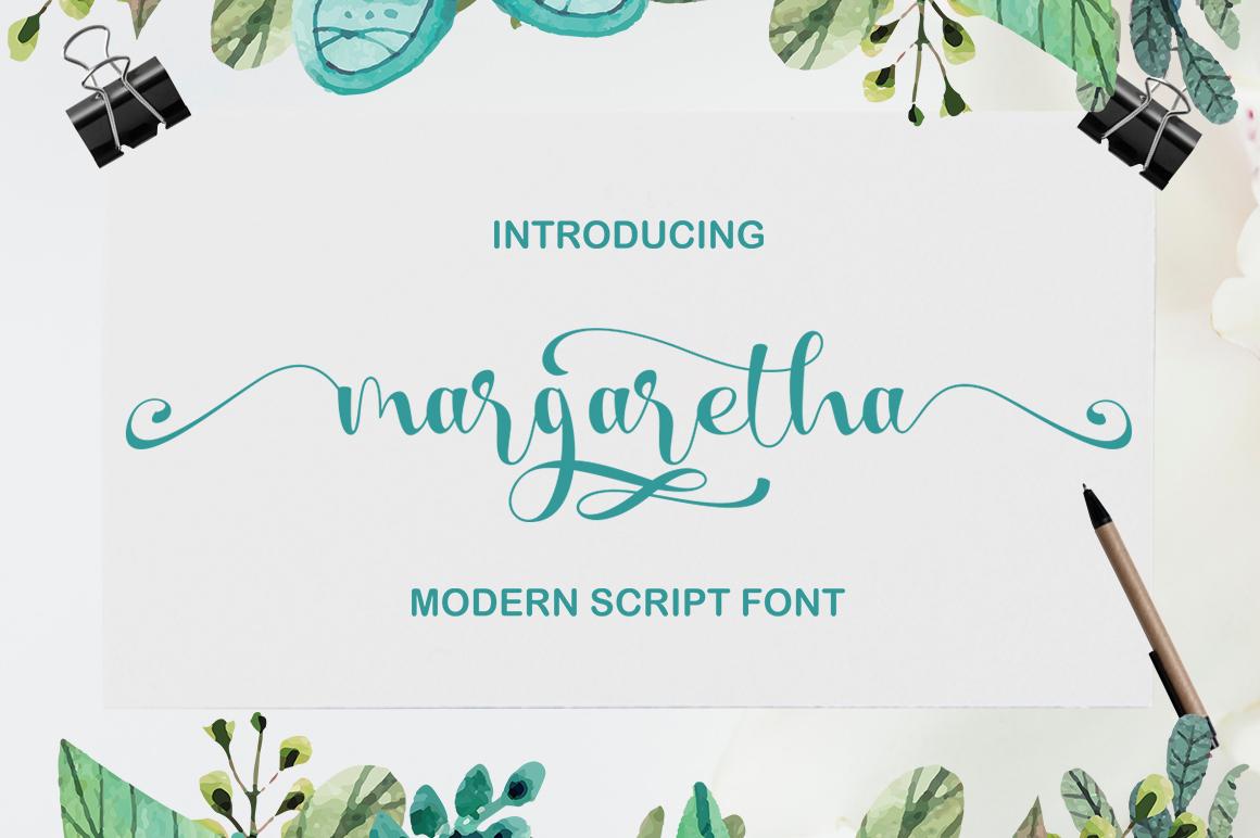 Calligraphy Script Bundle example image 2